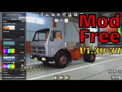 Review full mod truck Mercedes benz 917 free