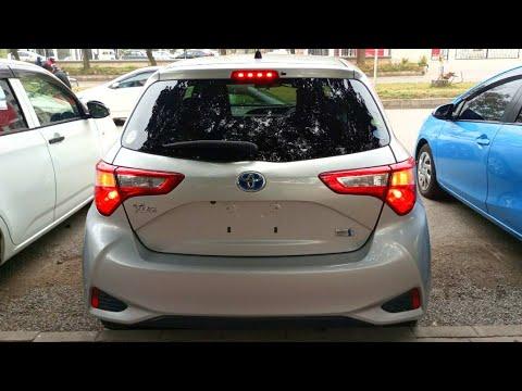 Toyota Vitz Hybrid (2017) Detail Review    Price, Specs & Features    Pak Rides