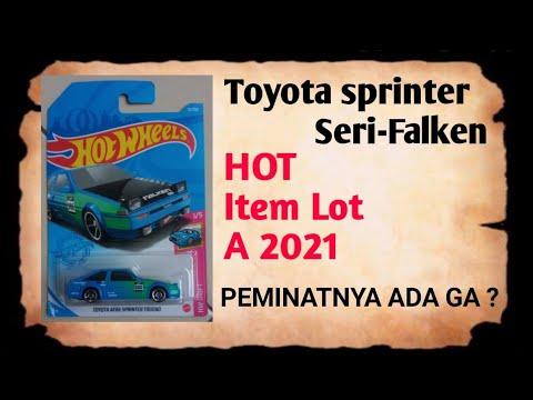 Review Toyota ae 86 sprinter trueno seri falken  GOKILL !!!