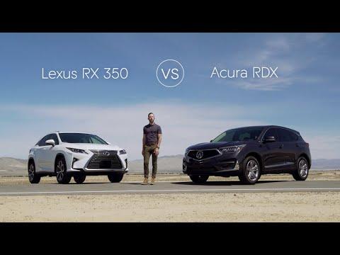 2021 Lexus RX 350 vs 2021 Acura RDX Review & Comparison