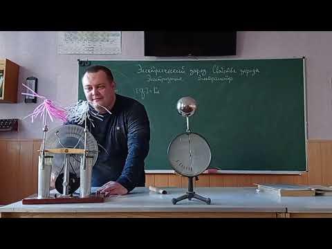 Электрический заряд. Свойства заряда. Электризация. Электрометр. (Физика 8 класс)