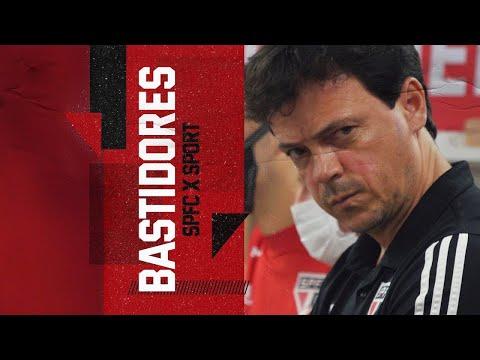 BASTIDORES: SÃO PAULO 1x0 SPORT - BRASILEIRÃO 2020