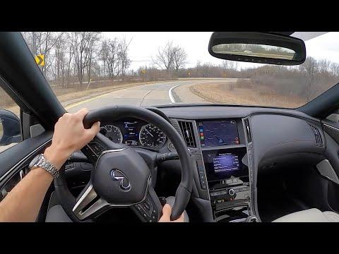 2021 Infiniti Q50 Red Sport 400 AWD - POV Driving Impressions