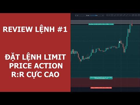 REVIEW LỆNH #1: GBPUSD Đặt lệnh Limit R:R cao liên tiếp với Price Action