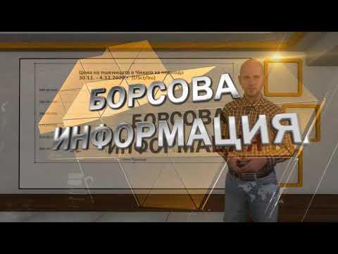 Борсова информация на АГРО ТВ - 07.12.2020 г.