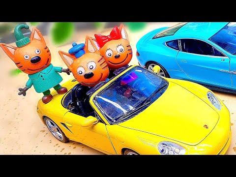 Три Кота | СБОРНИК - Новые семейные приключения | Мультфильмы для детей 0+
