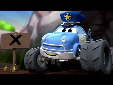 Детские мультфильмы с грузовиками - Малькольм монстр трак ДЕТЕКТИВ унюхал что-то вкусненькое!