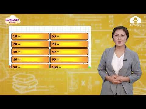 Математика 2-класс / Тегерек ондуктар / ТЕЛЕСАБАК 10.12.20