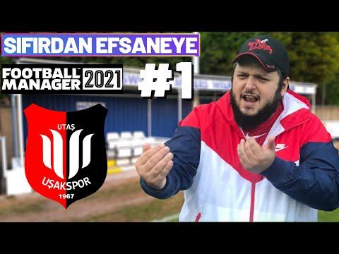 UŞAKSPOR, İLK MAÇLAR, KALACAK EV!   Football Manager 2021   Sıfırdan Efsaneye #1