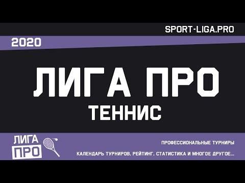 Теннис. Открытый турнир Лига Про. Балашиха. Турнир В. 10.12.2020г.