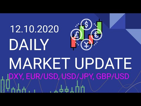 12.10.2020 Daily Forex Market Update DXY, EUR/USD, USD/JPY, GBP/USD
