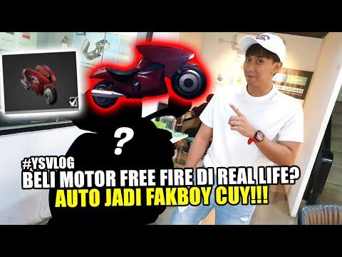 BELI MOTOR FREE FIRE DI REAL LIFE? AUTO JADI FAKBOY!!!