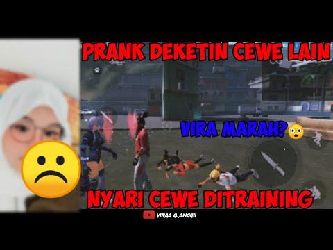 GODAIN CEWE DITRAINING,VIRA AUTO SEDIH :( | FREEFIRE INDONESIA