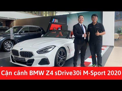 Cận cảnh xe thể thao mui trần BMW Z4 2020 sDrive30i M Sport với các tính năng cực đỉnh