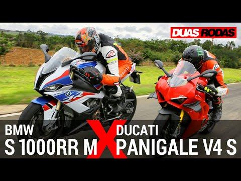 COMPARATIVO | BMW S 1000 RR M x DUCATI PANIGALE V4 S