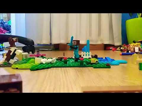 Мой мульт Lego Minecraft lego мой мир.