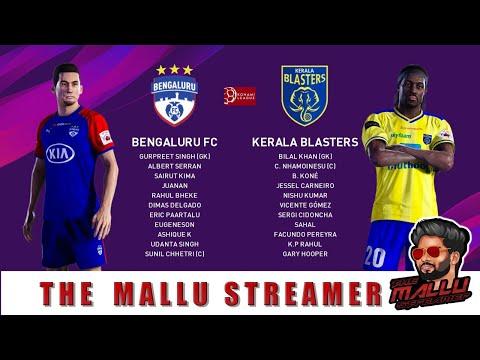 PES Kerala Blasters Vs Bengaluru FC ISL Live #keralablasters #Manjappada #Donixclash #FCGOA