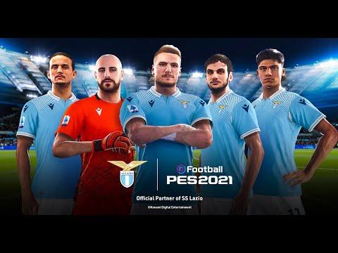 eFootball PES 2021 x SS Lazio - Partnership Announcement Trailer