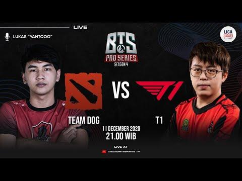 Team DOG vs T1 (BO2) - BTS Pro Series 4: SEA   Caster : YANTO KOCULLL