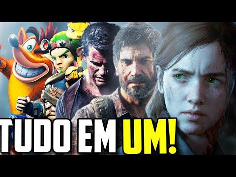 TODOS OS GAMES DA NAUGHTY DOG EM 1 ÚNICO VÍDEO!