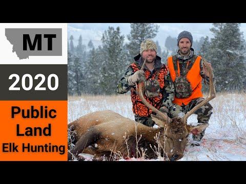 Montana Public Land Elk Hunting 2020