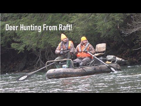 Deer Hunting From Raft SUCCESS!