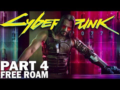 Hunting For Legendary Weapons & Cyberwear! Cyberpunk 2077 Free Roam Gameplay