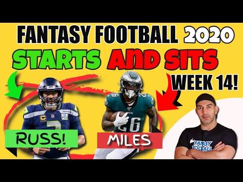 Fantasy Football Starts and Sits Week 14