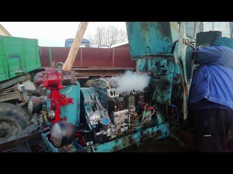 Настройка работы двигателя на тракторе т 40.  Двигатель д-37
