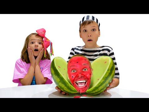 Макс и детские истории про фрукты и слайм