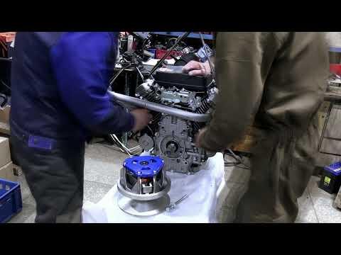 Подготовка двигателя LIFAN 2V80F-A, 29 л.с., для установки на снегоход Буран
