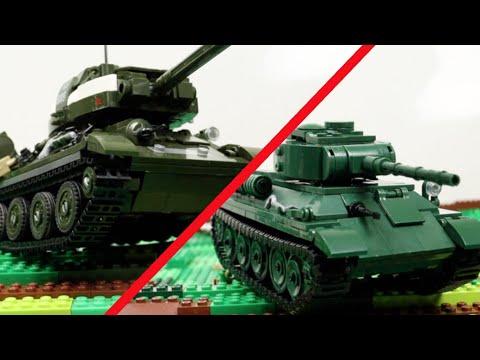 """Новый """"ЛЕГО"""" танк Т-34 от Bluebrixx"""