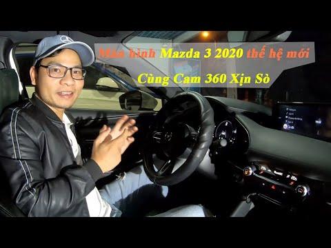 Màn Hình Androi Mazda 3 2020 - Chạy song song hai hệ điều hành, Kèm Cam 360 Xịn sò