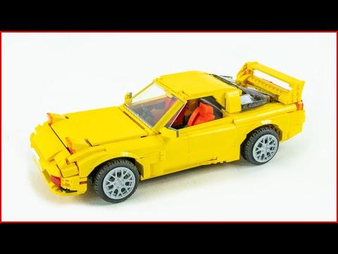 Initial D Licensed CaDA Mazda RX7-FD3S Set | C61023W Speed Build - Brick Builder