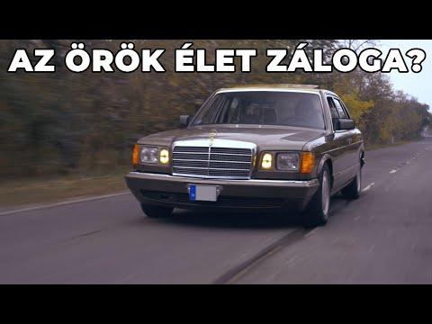 A jéghegy csúcsa: Mercedes-Benz 560 SEL W126 (1989) | Alapjárat