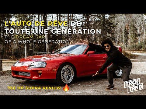 REVIEW Toyota Supra MKIV de 750HP | La légende japonaise mise à l'essai !