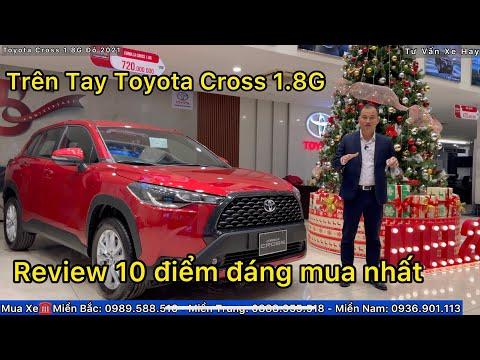 Toyota Cross 1.8G Màu Đỏ Nội Thất Đen Review Chi Tiết Bảng Giá Xe Khuyến Mại 2021