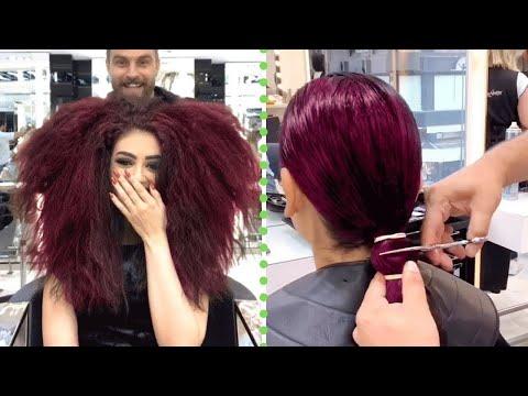 Trending Medium Haircuts Transformation    Girl Haircut Ideas     Hairstyle Compilation