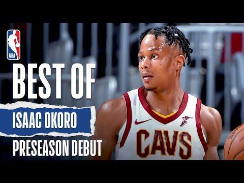 Isaac Okoro CALLS GAME In His #NBAPreseason Debut!