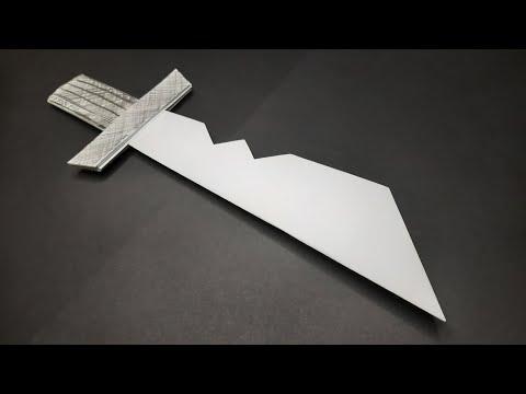 КАК СДЕЛАТЬ НОЖ АМОНГ АС ИЗ БУМАГИ | HOW TO MAKE AMONG AS PAPER KNIFE