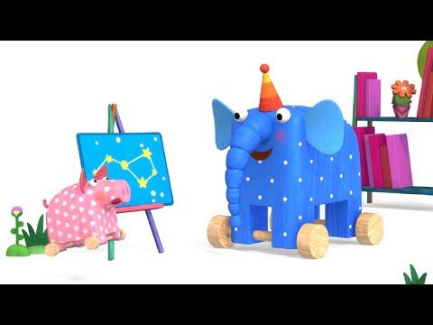 Деревяшки - серия 92 - Путешествие - новый развивающий познавательный мультик для малышей