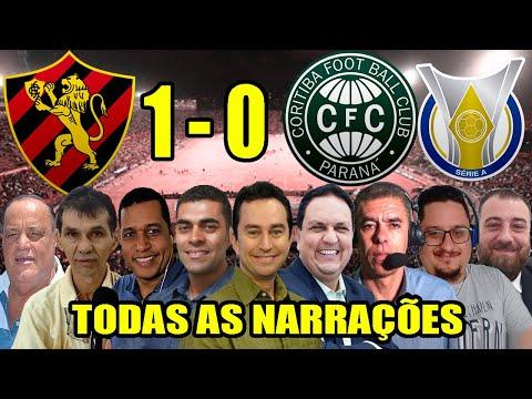 Todas as narrações - Sport 1 x 0 Coritiba | Campeonato Brasileiro 2020