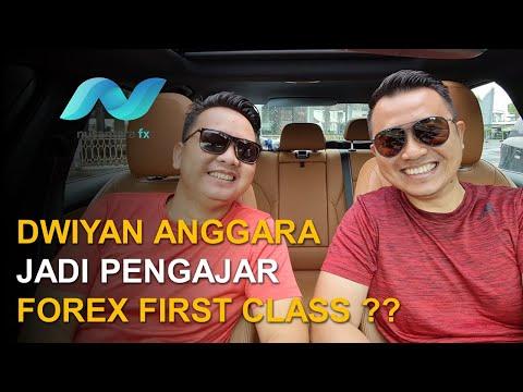 DWIYAN ANGGARA JADI PENGAJAR FOREX FIRST CLASS ??
