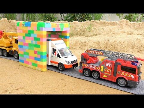 Мультик для детей про машинки Полицейский автомобиль Трактор Экскаватор | BIBO и Игрушки