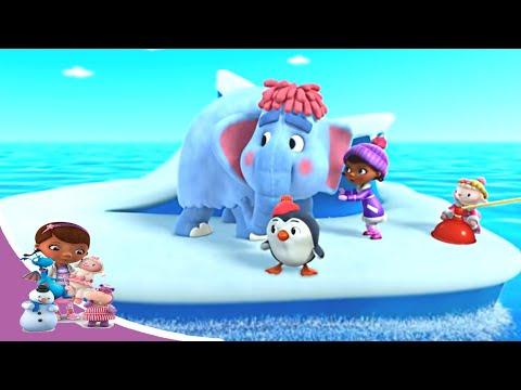 Доктор Плюшева - Спасатели в Арктике: Великое таяние Арктики. Часть 1| Мультфильм Disney про игрушки