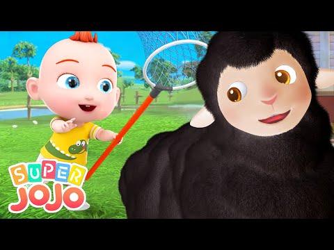 Baa Baa Black Sheep - Nursery rhymes | Новый сборник песенок  и мультиков | Super JoJo