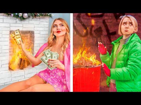 Rich Girl vs Broke Girl