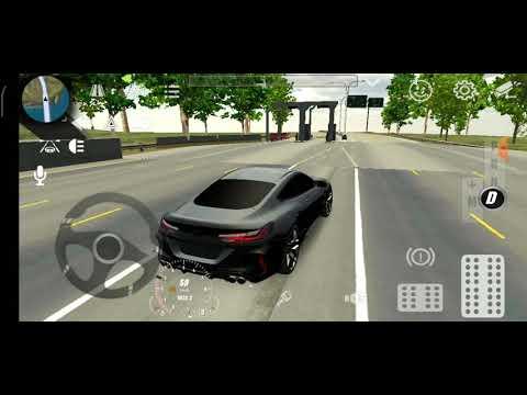обзор на BMW M8 в car parking(2) | 2020-12-20 19:51:19 | встречный связывание b296