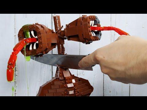 LEGO Siren Head & Among Us
