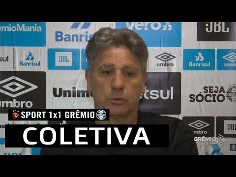 COLETIVA RENATO GAÚCHO   AO VIVO   Sport 1 x 1 Grêmio - Brasileirão 2020   2020-12-21 02:05:38   нинкин кушак 72b1